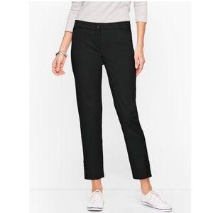 NWT Talbots Perfect Crop Pants - Curvy Fit